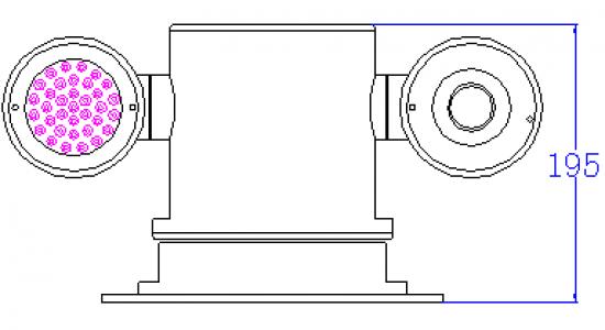 explosion proof camera enclosure HV-EX020